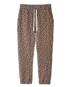 10Days CROPPED JOGGER SMALL LEOPARD