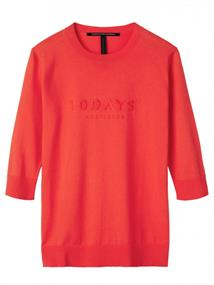 10Days LOGO SWEATER 3/4 SLEEVES