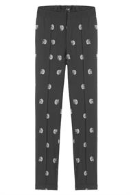 Alix LADIES WOVEN DOT LEOPARD PANTS