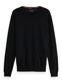 Amsterdams Blauw Ams Blauw cotton cashmere knit in r