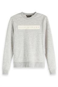 Amsterdams Blauw Club Nomade Crew neck sweat with ch