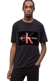 Calvin Klein FLOCK MONOGRAM BOX L