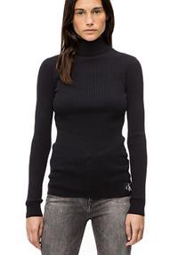 Calvin Klein WOOL BLEND RIB TURTL