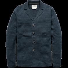 Cast Iron Blazer Cotton Indigo Melange
