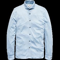 Cast Iron Long Sleeve Shirt MERCERSIZED JACQU