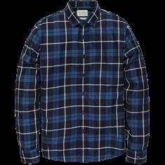 Cast Iron Long Sleeve Shirt SOFT INDIGO WINDO