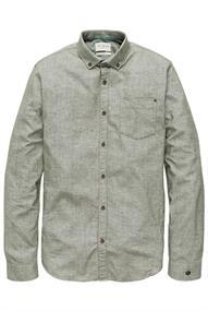 Cast Iron Long Sleeve Shirt SOFT OXFORD MELAN