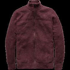 Cast Iron Zip jacket Cotton Melee Structure K