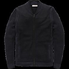 Cast Iron Zip jacket Cotton Viscose Jacquard