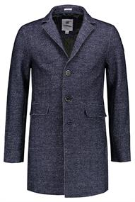 Dstrezzed Coat Boucle Wool Herringbone
