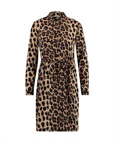Freebird BRIDGET LEOPARD DRESS WV-PES