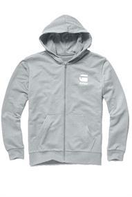 G-Star Doax hooded zip thru sw l/s