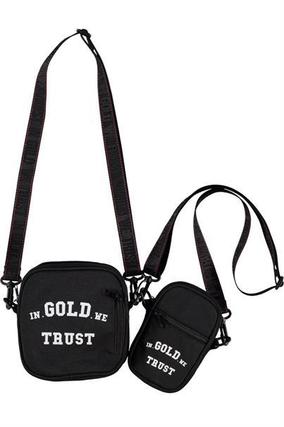 In Gold We Trust LOGO BUMBAG
