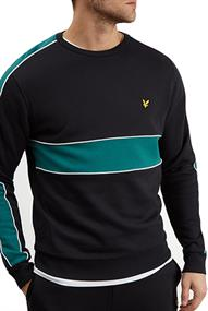 Lyle and Scott CUT & SEW SWEATSHIRT