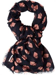 Maison Scotch Allover printed scarf in various pr