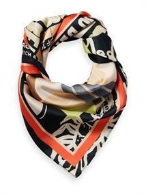 Maison Scotch Bamboo beach printed scarf