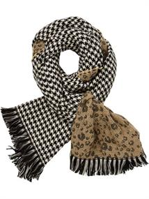 Maison Scotch Double sided wool scarf