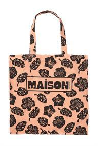 Maison Scotch Graphic printed tote bag