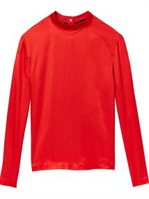 Maison Scotch High neck top with press buttons at