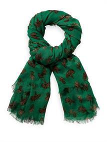 Maison Scotch Lightweight printed scarf