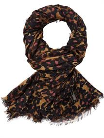 Maison Scotch Lightweight scarf in beautiful prin