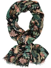 Maison Scotch Lightweight scarf in various dessin