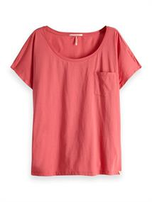 Maison Scotch Oversized tee in prints and solids
