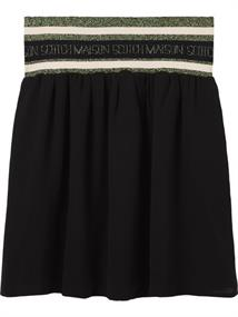 Maison Scotch Short drapey skirt with wide elasti