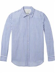 Maison Scotch Slim fit basic button up shirt in s