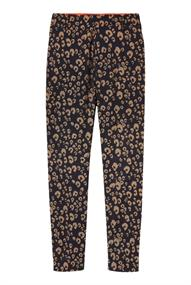 Maison Scotch Tailored pants in animal jacqaurd p