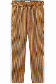 Maison Scotch Tapered leg pants with contrast sid