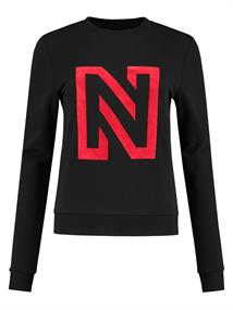 Nikkie N LOGO FLOCK SWEATER