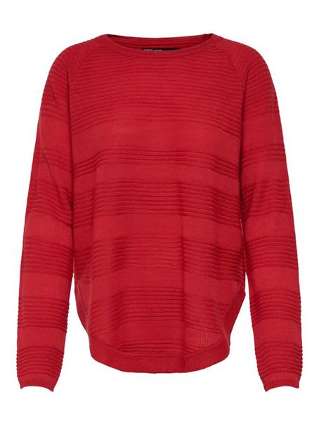 Only onlCAVIAR L/S PULLOVER KNT NOOS