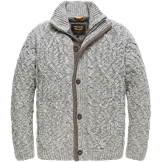 PME Legend Button jacket Soft Wool Blend Monar