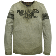 PME Legend Long sleeve grandad Single Jersey C