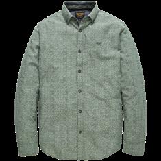 PME Legend Long Sleeve Shirt Chambray Print Gr