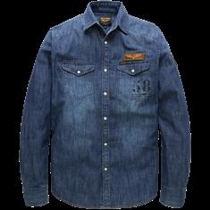 PME Legend Long Sleeve Shirt Denim Cody