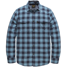 PME Legend Long Sleeve Shirt Grindle Check Geo