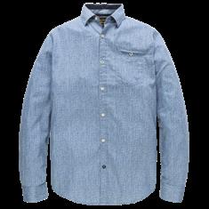 PME Legend Long Sleeve Shirt Herringbone Print