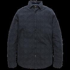 PME Legend Long Sleeve Shirt Jacquard Stripe G