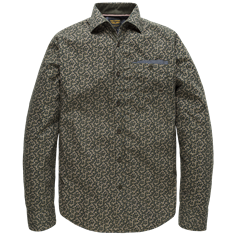 PME Legend Long Sleeve Shirt Poplin Print Seth
