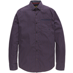 PME Legend Long Sleeve Shirt Poplin Print Wats