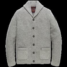 PME Legend Shawl collar Wool Mix Mouline
