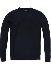 Scotch & Soda Chic crewneck pullover in structure