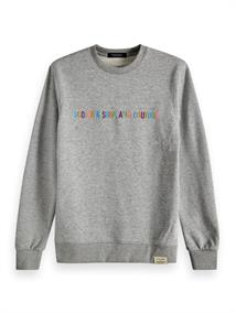 Scotch & Soda Classic crewneck sweat with Scotch