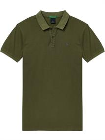Scotch & Soda Classic garment-dyed pique polo