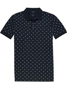 Scotch & Soda Classic garment-dyed polo with all-