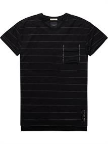 Scotch & Soda Club Nomade basic tee in solid and