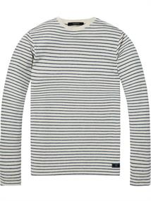 Scotch & Soda Crewneck sweat with raw edge finish