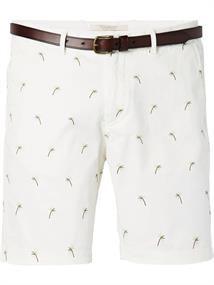 Scotch & Soda Garment dyed chino short with all-o